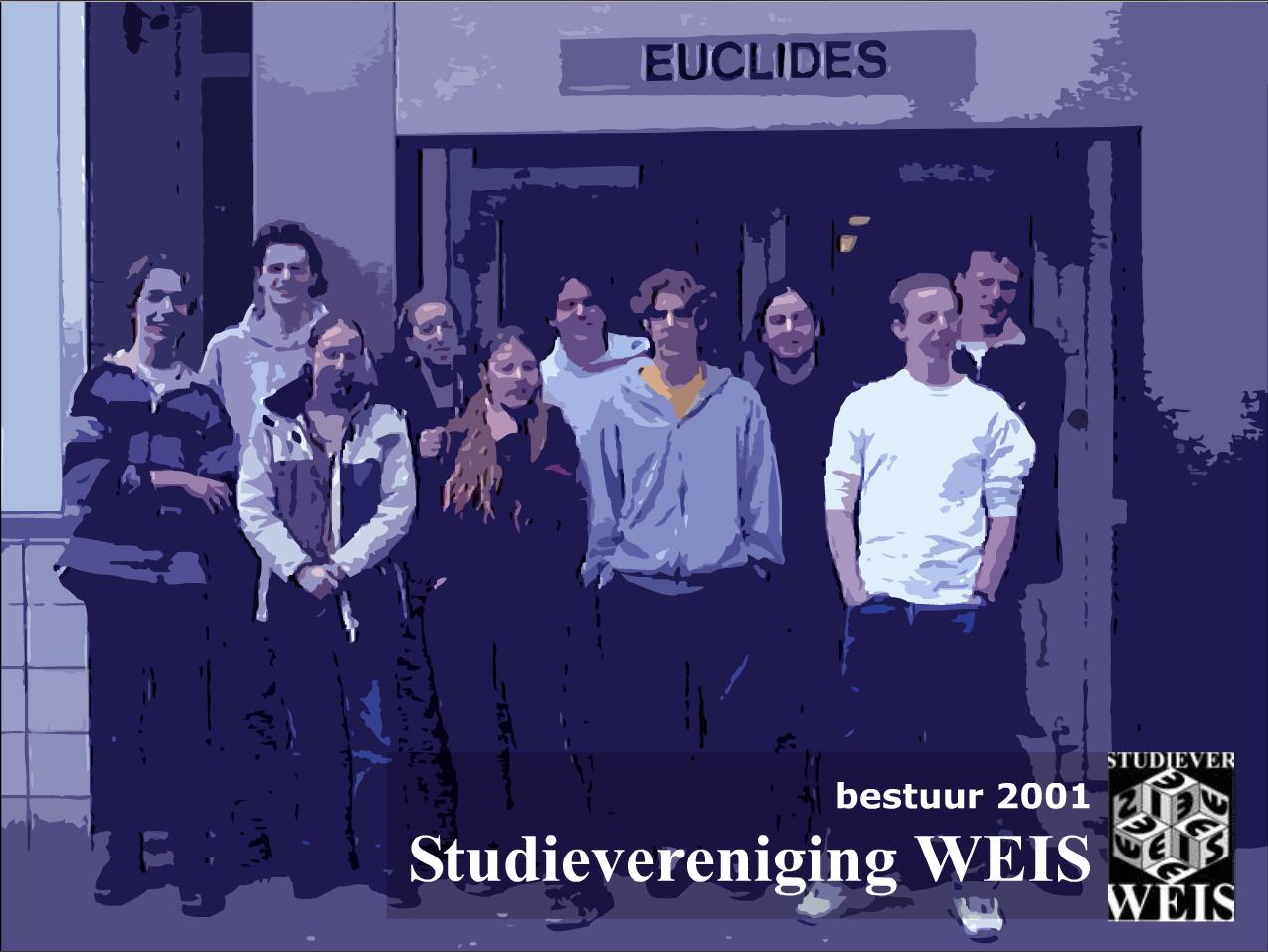 Bestuur WEIS 2001