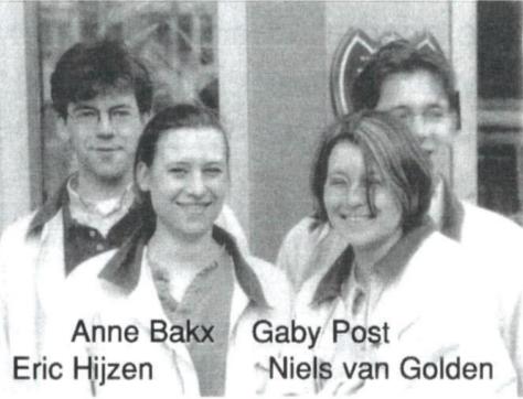 Bestuur Panta Rhei 1996-1997